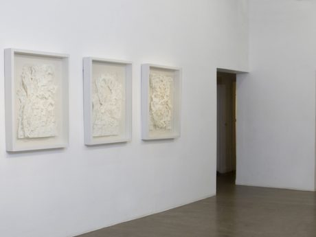 An image of Sachin's works created during the residency in Switzerland